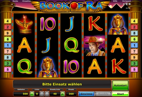 online casino game gratis book of ra spielen