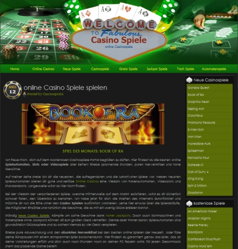 online casino germany casinospiele