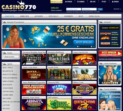 internet casinos bewertung