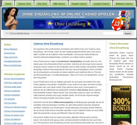 online casino ohne einzahlung .de