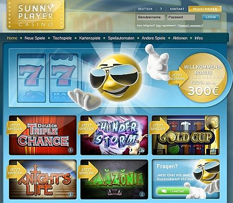 sunnyplayer casino test