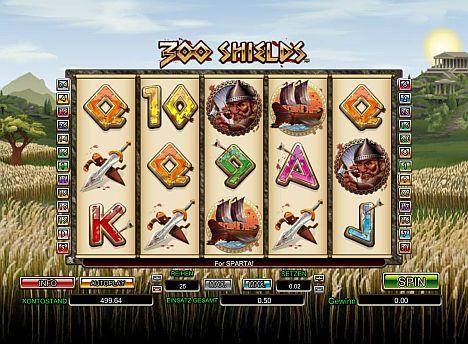 300 Shields im Mybet Casino spielen