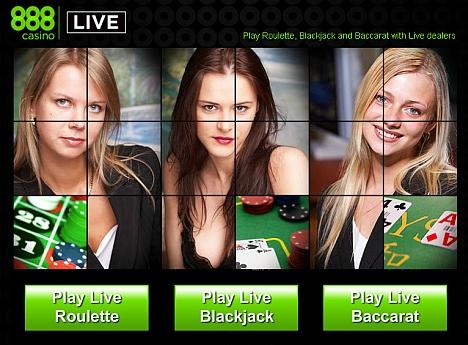 888 Livecasino eröffnet