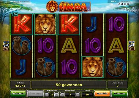 African Simba bei Stargames