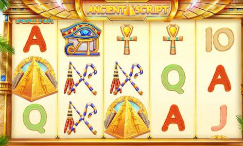 Ancient Script Slot Vorschau