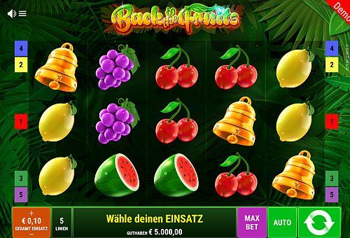 Back to the Fruits Slot Vorschau