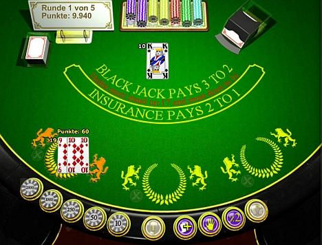 Blackjack Duell bei Stargames Spiele