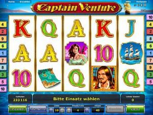 Captain Venture Novoline