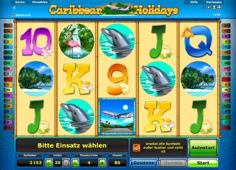 Caribbean Holidays bei Stargames