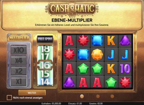 Cash-O-Matic NetEnt Vorschau