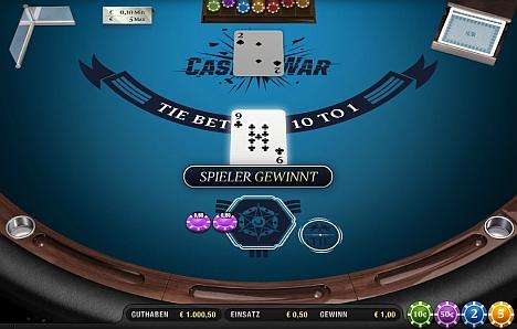 Casino War online spielen