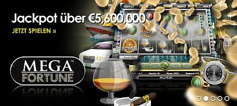 Casinoeuro Millionenjackpot Mega Fortune