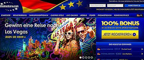 Reise gewinnen im Casino Euro