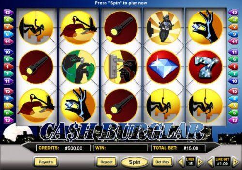 Cat Burglar Spielautomat Vorschau