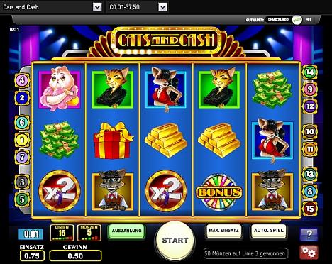 Cats and Cash gratis spielen