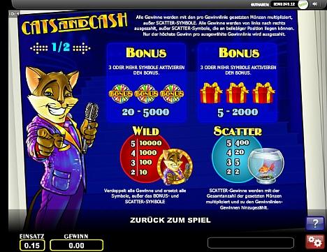 Gewinne Cats and Cash