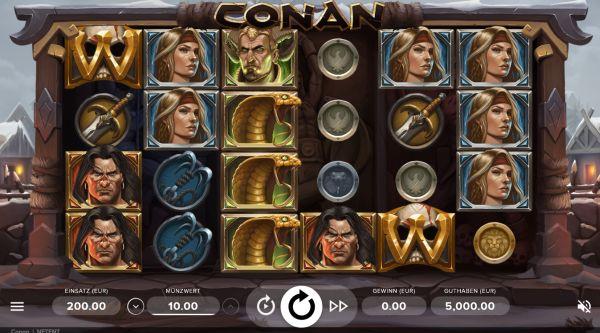 Conan Slot Vorschau