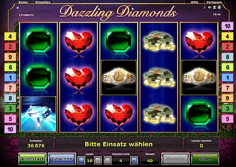 Novoline Dazzling Diamonds