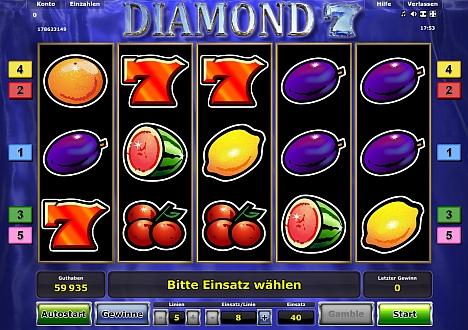 Diamond 7 von Novoline