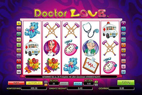 Doctor Love spielen bei Mybet