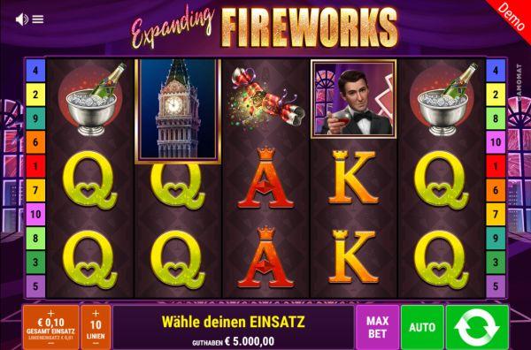 Expanding Fireworks Vorschau
