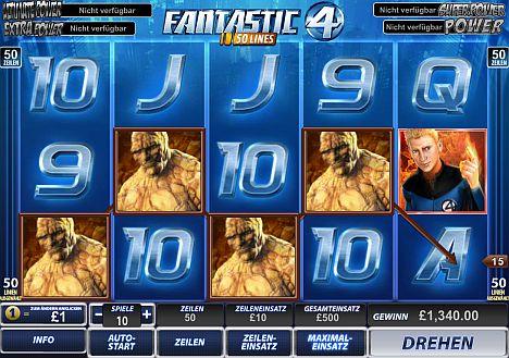 Fantastic Four spielen