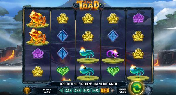 Fire Toad Slot Vorschau