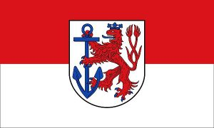 Flagge Düsseldorf