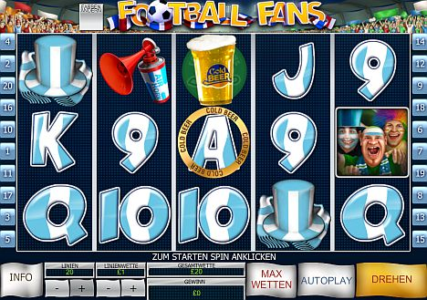 Football Fans spielen im William Hill Casino