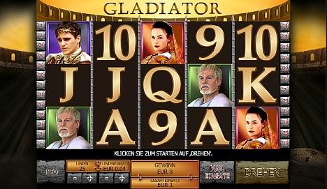 Gladiator online spielen im Casino Euro