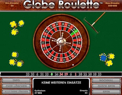 Globe Roulette spielen