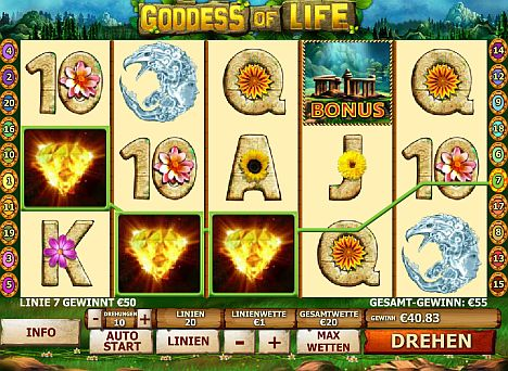 Goddess of Life spielen