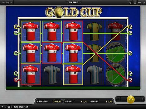 Gold Cup Merkur Spiel