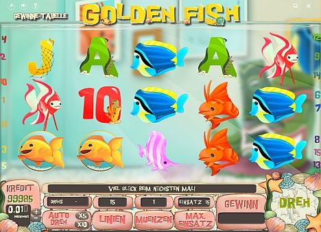 Golden Fish spielen