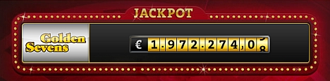 Golden Sevens Jackpot Zähler
