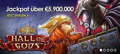 Hall of Gods 5 Mio. Jackpot