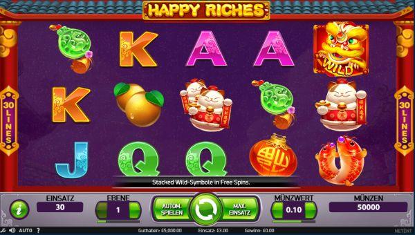 Happy Riches Vorschau