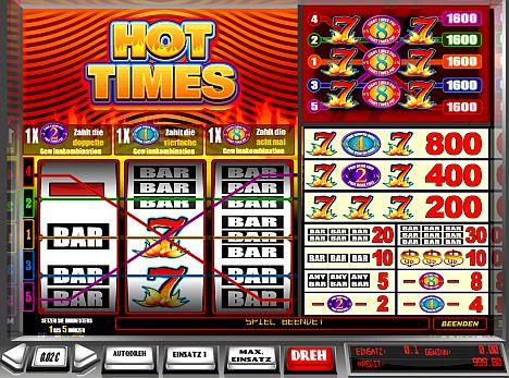 Hot Times online spielen