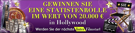 Intercasino Statistenrolle in Hollywood