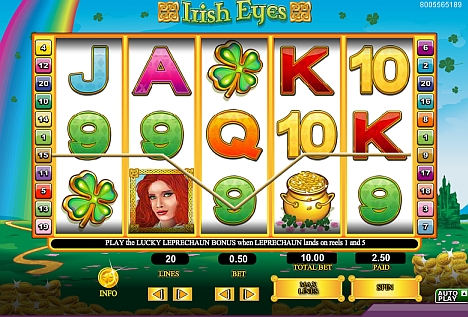 Irish Eyes im 888 Casino