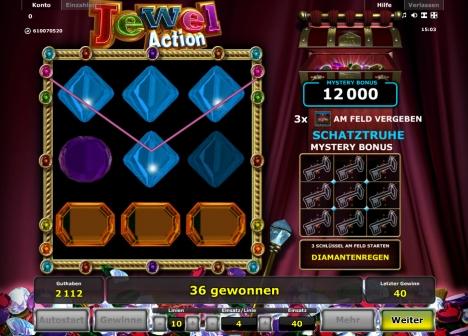 Novoline Spiel Jewel Action online