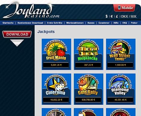 Joyland Jackpots