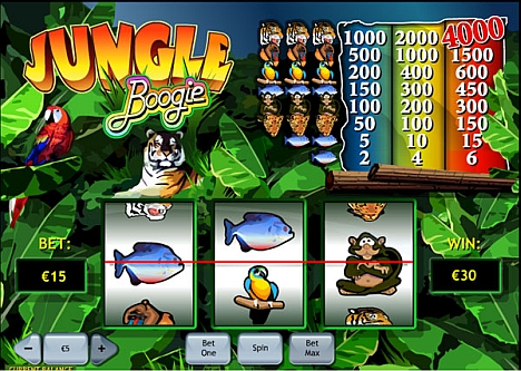 Jungle Boogie spielen
