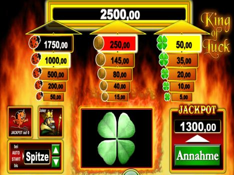 king of luck spielen