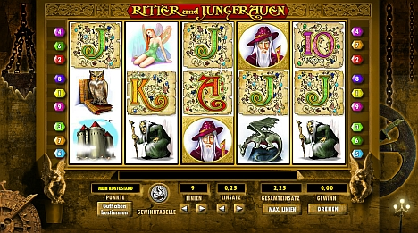 Knights and Maidens online spielen