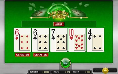 Las Vegas Poker online spielen