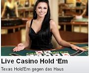 Live Texas Hold'em Poker