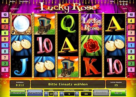 Lucky Rose gratis online spielen bei Stargames