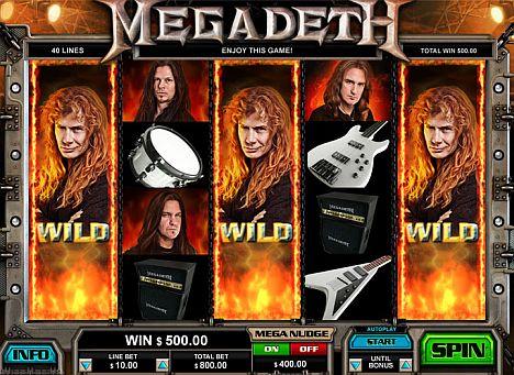Megadeth spielen