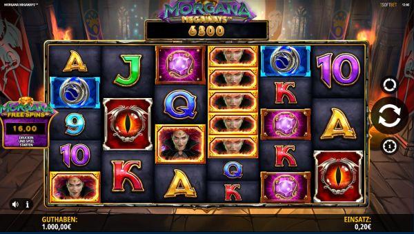Morgana Megaways Slot Vorschau